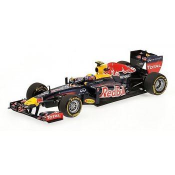 Minichamps 1:43 F1 120072 RED BULL RACING - SHOWCAR - MARK WEBBER - 2012 L.E. 1224 pcs