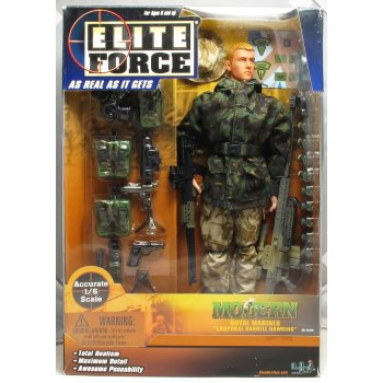 Blue Box Toys Elite Force BF 21329 1/6th Modern British Royal Marine Commando - Corporal Darrell Hawkins