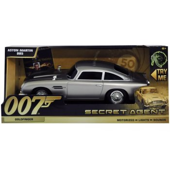 Toy State 62021 James Bond 007 - Goldfinger - Aston Martin DB5 - Motorised with Light & Sound - 50th Anniversary of James Bond