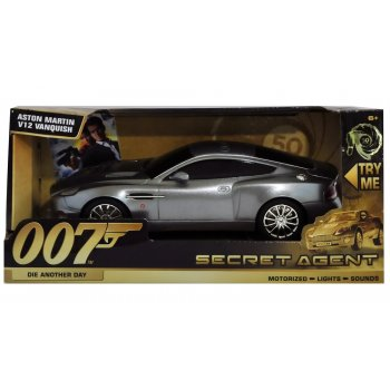 Toy State 62022 James Bond 007 - Die Another Day - Aston Martin Vanquish - Motorised with Light & Sound - 50th Anniversary of James Bond