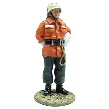 DelPrado BOM004 60mm 1:30 Firefighters Figure - German Fireman 1990