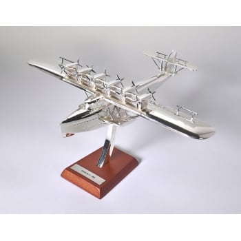 Atlas Editions 1:200 HB02 Chrome Plated Aircraft - Dornier Do X - 1929