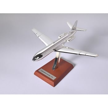 Atlas Editions 1:200 HB04 Silver Plated Aircraft - Sud - Aviation Caravelle - 1955