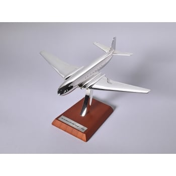 Atlas Editions 1:200 HB11 Chrome Plated Aircraft - De Havilland DH-106 Comet - 1949