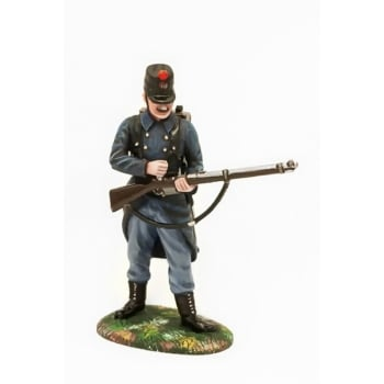 Empire Miniatures 1:32 W1-1402 WW1 Belgian 10th Line Infantry Standing Loading No 1