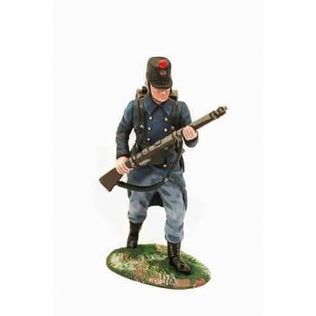 Empire Miniatures 1:32 W1-1403 WW1 Belgian 10th Line Infantry Advancing at Port Arms