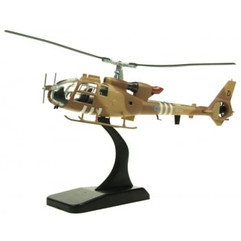 "Aviation72 AV7224005 1/72 Westland Gazelle AH.1 Army Air Corps XZ321/D Desert Storm Operation Granby ""Gary"""