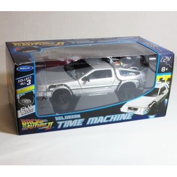 Welly 2241FV Back to the Future BTTF 2 Flying Version Delorean 1:24 Scale Diecast Model Car