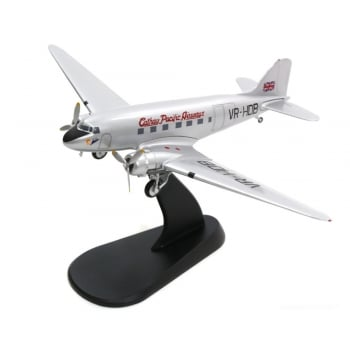 "Hobby Master 1:200 HL1308 Douglas DC-3 ""Betsy"" Cathay Pacific Airways, ""VR-HDB"" 1980s"