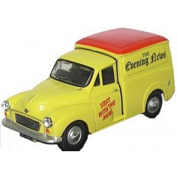Oxford Diecast 1:43 MM049 Morris Minor Van - Evening News