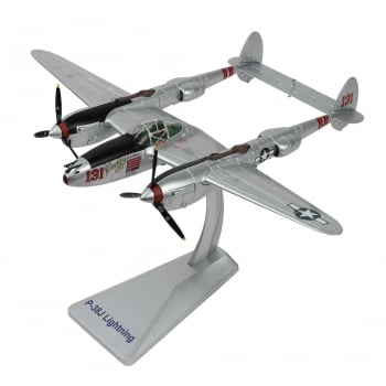 "Air Force 1 1/48 AF10150 USAAF Lockheed P-38J Lightning Interceptor - Major Thomas McGuire - ""Pudgy IV"""