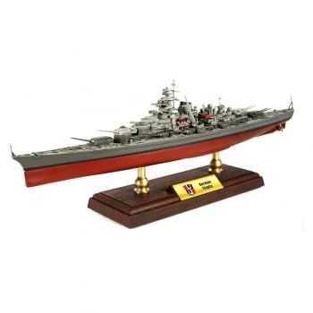 Forces of Valor 1:700 UN861005A Bismarck-class Battleship German Navy, Tirpitz, Norway, 1942