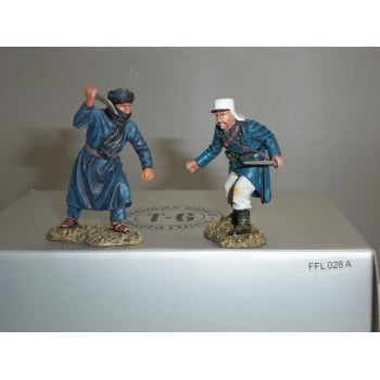 Thomas Gunn FFL028A French Foreign Legion Legionnaire & Tuareg Hand-to-Hand Fight Set