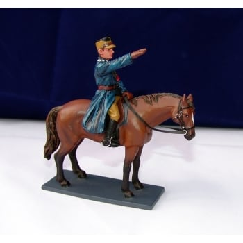 Thomas Gunn BER003B Germany 1938 Mounted SA Berlin Policeman Saluting