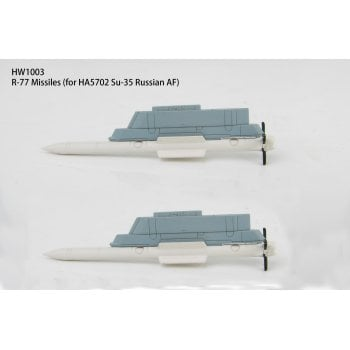 Hobby Master HW1003 1:72 R-77 missiles and launch rail for Russian Su-35