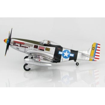 "Hobby Master HA7738 1:48 P-51K Mustang ""Mrs Bonnie"" Lt. Col. Bill Dunham, Deputy CO/348 FG, Okinawa, August 1945"