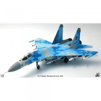 JC Wings 1:72 JCW72SU27003 JC Wings SU-27 Flanker Ukranian Air Force August 2016