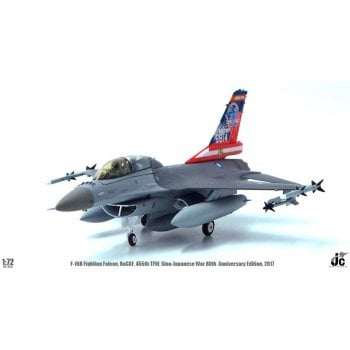 JC Wings 1:72 JCW72F16006 F-16B Fighting Falcon ROCAF 455th Tactical FW Sino-Japanese War 80th Anniversary Chiayi AB 2017