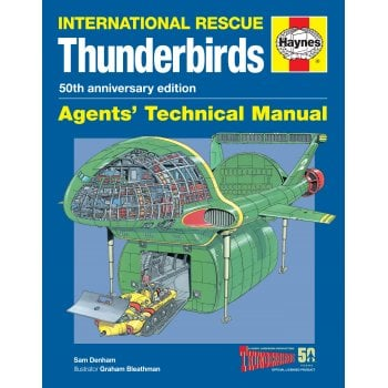 Haynes Manuals Thunderbirds 50th Anniversary Agents Technical Manual
