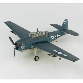 "Hobby Master 1:72 HA1222 Grumman TBF-1C Avenger ""The Battle of Leyte"" White 93 of VT-15, USS Essex (CV 9), November 1944"