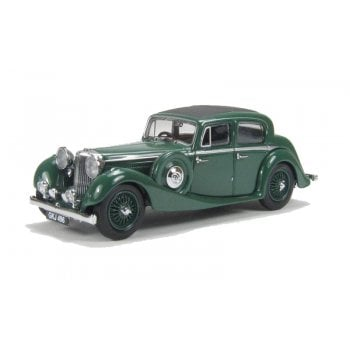 Oxford Diecast 1:43 JSS005 Jaguar SS 2.5 Saloon - Suede green