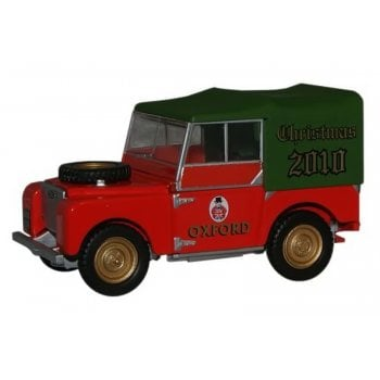 Oxford Diecast 1:43 LAN180007 Land Rover Series 1 Christmas model 2010