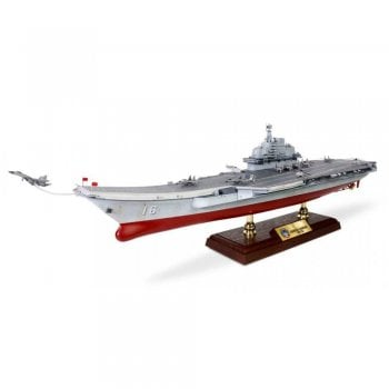 Forces of Valor 1:700 UN861010A People's Liberation Army Navy Surface Force Liaoning Class Nuclear-Powered Aircraft Carrier - Liaoning (CV-16), Hong Kong Visit, 2017