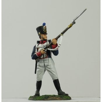 Britains 36075 - Napoleonic French Line Infantry Fusilier Standing at the Ready No.1