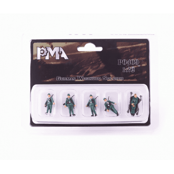 PMA Models 1:72 PMAP0409 German Wounded Soldier Figure Set A - Highly Detailed