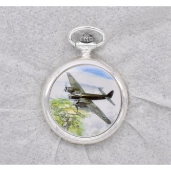 Atlas Editions 4680109 Aces of the Air Pocket Watches - Moment in Time - Junkers Ju88, Kent, August 1940