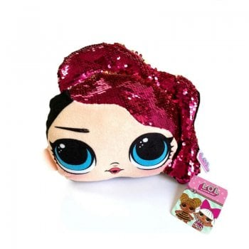 SSTR LOL SURPRISE! SEQUIN SOFT TOY - ROCKER 26CM