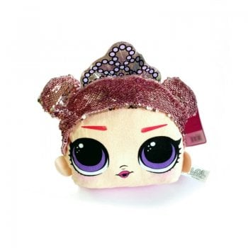 PTCS LOL SURPRISE! SEQUIN SOFT TOY - PINK TIARA CENTER STAGE 28CM