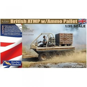Gecko Models 1:35 35GM017 British ATMP with Ammo Pallet Military Model Kit