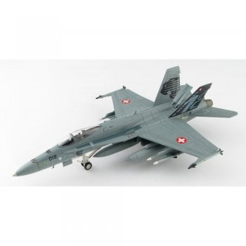 """Hobby Master 1:72 HA3507 F/A-18C Hornet J-5018, 18th Sqn """"Panthers"""" Swiss Air Force, Nov 2009"""