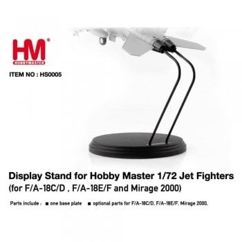 Hobby Master HS0005 Display Stand for 1:72 Jet Fighters - F/A-18C/D,F/A-18E/F and Mirage 2000