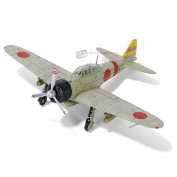 """Forces of Valor 1:72 812030A A6M2 """"Zero"""" Fighter - Lieutenant Commander Sigeru Itaya, 2nd Sqn, 1st Section, IJN Carrier Akagi, Pearl Harbor, Hawaii, December 1941"""