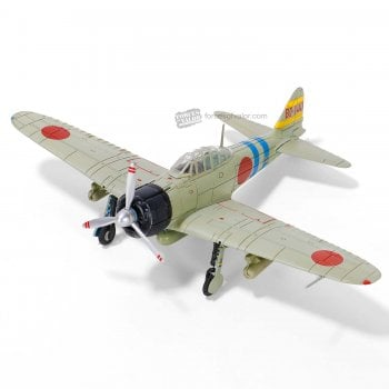 """Forces of Valor 1:72 812030B A6M2 """"Zero"""" Fighter - Sumio Nouno, 11th Section, 4th Hikotai, IJN Carrier Hiryu, Pearl Harbor, Hawaii, December 1941"""