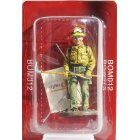 BOM012 60mm 1:30 Firefighters Figure - Forestal firefighter USA 2001