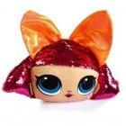 OBGQ LOL SURPRISE! SEQUIN SOFT TOY - ORANGE BOW GLITTER QUEEN 32CM