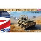 1:35 35GM035 British ATMP w Rescue Stretcher and Driver Figure Military Model Kit