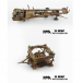 PMA Models 1/72 PMAP0324 V2 Rocket & Launch Trailer, German Army 1945 Camouflage  - Highly Detailed