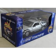 TY4173 Back to the Future BTTF 2 Delorean 1:24 Scale Diecast Model Car