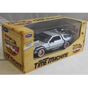 TY4174 Back to the Future BTTF 3 Delorean 1:24 Scale Diecast Model Car