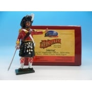 50016C - British 93rd Highlander Officer Redcoats Collectors Club Figure