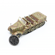 1/72 PMAP0319 SD.Kfz.8 DB10, Schwerer Zugkraftwagen 12T, German Army - Highly Detailed