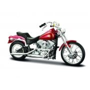 1:18 34360M Harley-Davidson 1984 FXST Softail (Red) Display Model