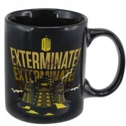 BBC Doctor Dr Who Dalek Stoneware 330ml Tea Coffee Heat Change Mug