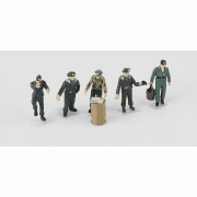 1:72 PMAP0411 German Armour Crew Figure Set  (A) - Highly Detailed