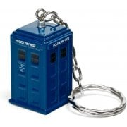 DW419 Doctor Who diecast Tardis keyring