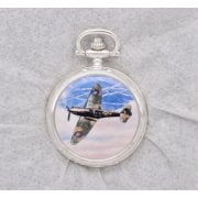 4680110 Aces of the Air Pocket Watches - Salute to the Few - Spitfire Mk.I, Kent, August 1940